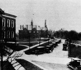 Campus photo from the 1920s