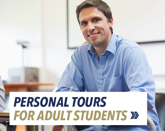Personal tours for adult students