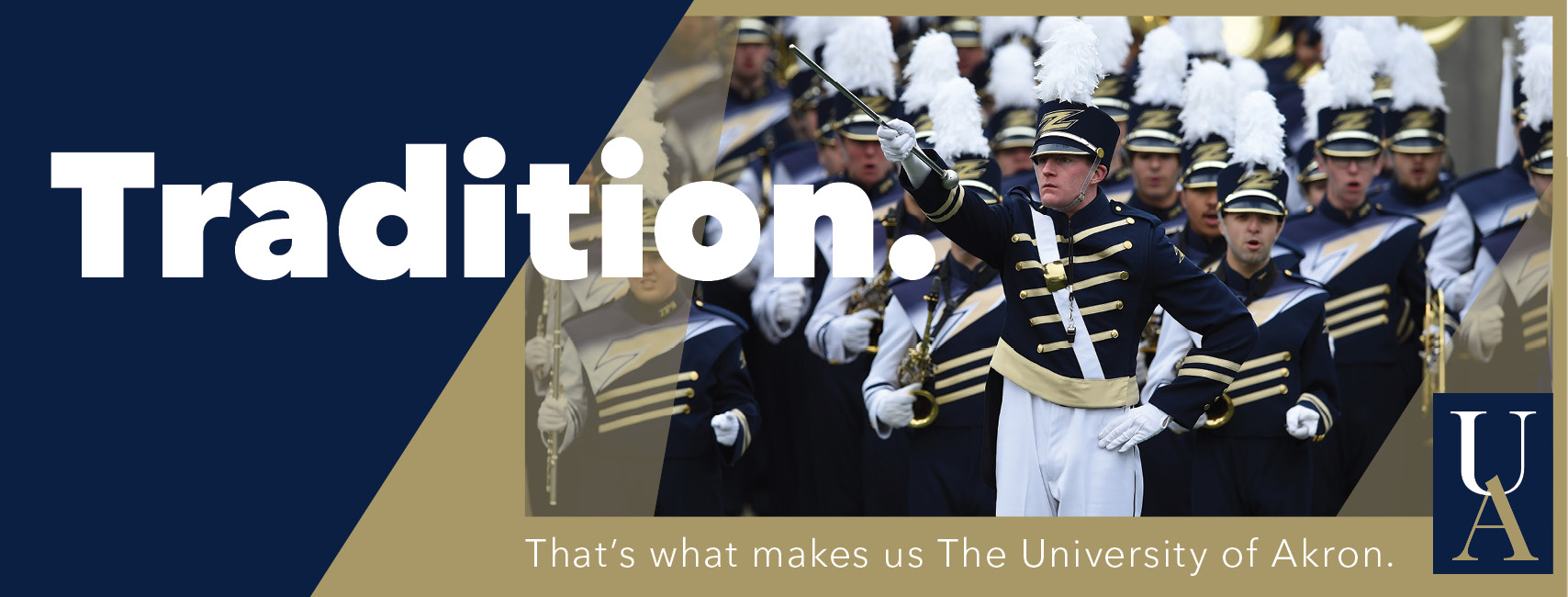 Akron e-Magazine banner - Tradition: What makes us The University of Akron