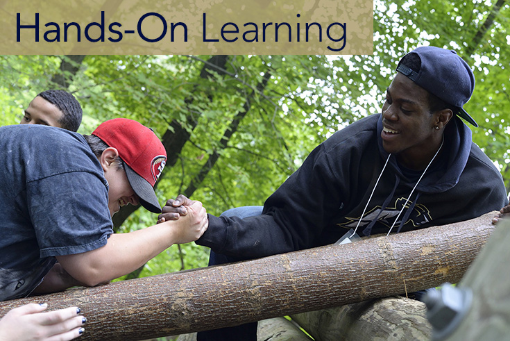 CBA classes emphasize the importance of hands-on learning inside and outside the classroom