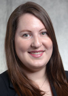 The Univeristy of Akron School of Law Assistant Director of Admissions, Emma K. F. Schulze, Esq headshot.