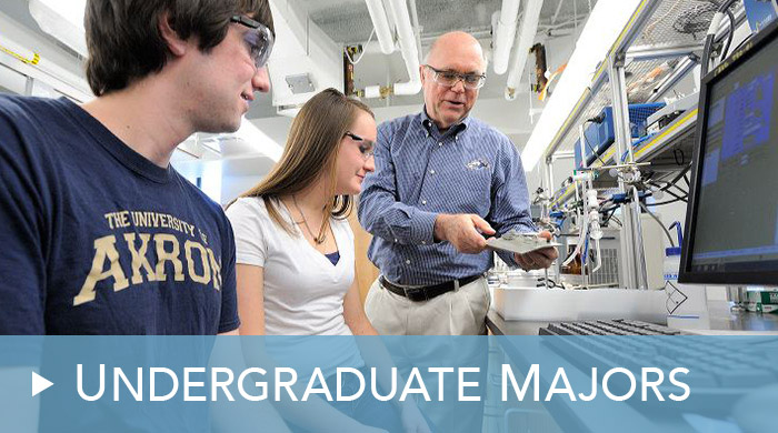 Undergraduate programs at The University of Akron