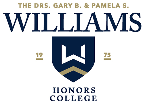 Logo for The Williams Honors College at The University of Akron