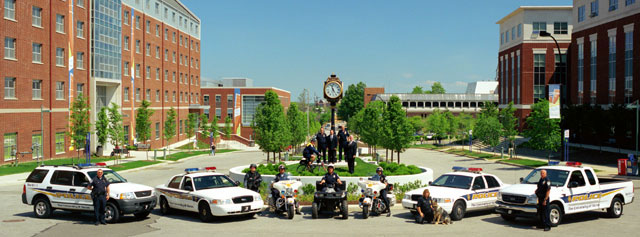 UA campus life and safety is monitored 24-7 by university of akron police.