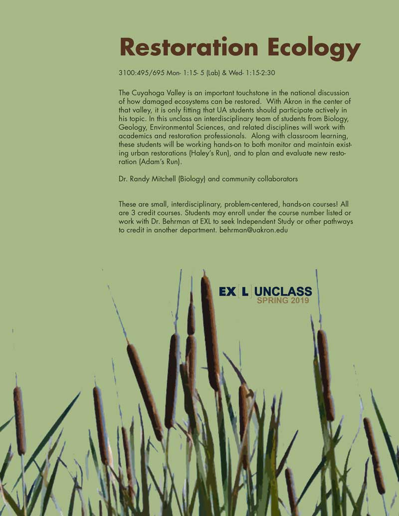 Restoration Ecology unclass poster