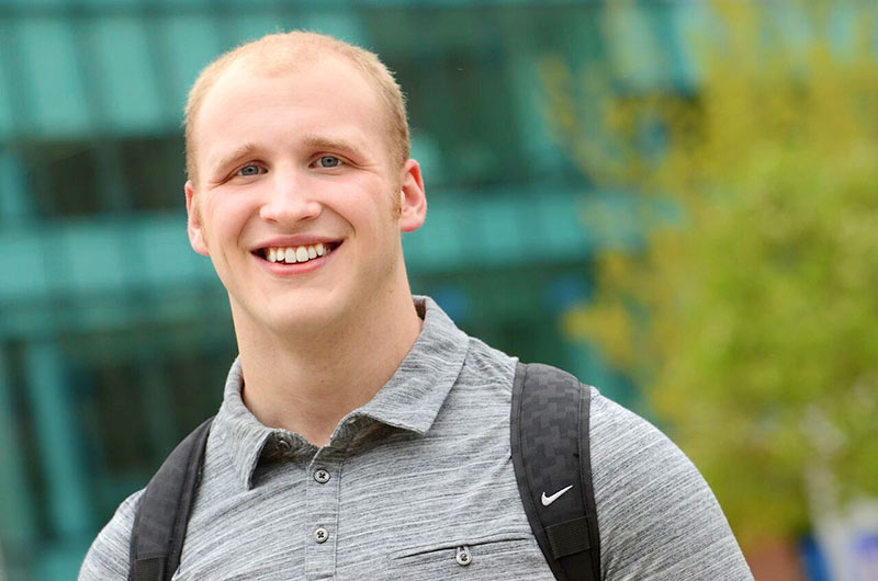 Cybersecurity major student at The University of Akron