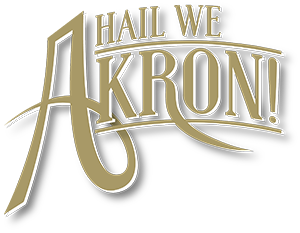 Hail We Akron graphic