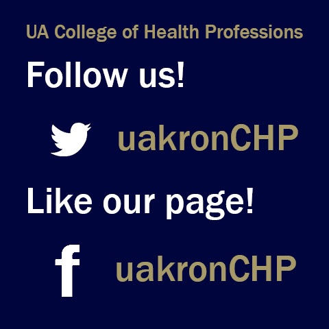 College of Health Professions Social Media Outlets