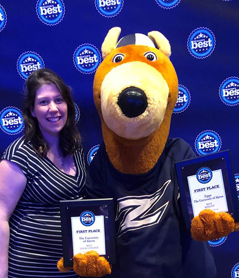 Kristi Reese and Zippy
