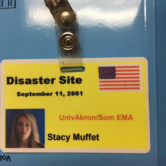 Dr. Stacy Willett's badge
