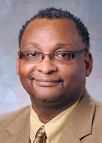 Dr. Sheldon Wrice, vice president of inclusion and equity and chief diversity officer
