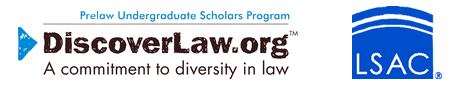 Discover law - PLUS logo