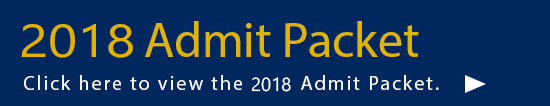 admit packet 2018