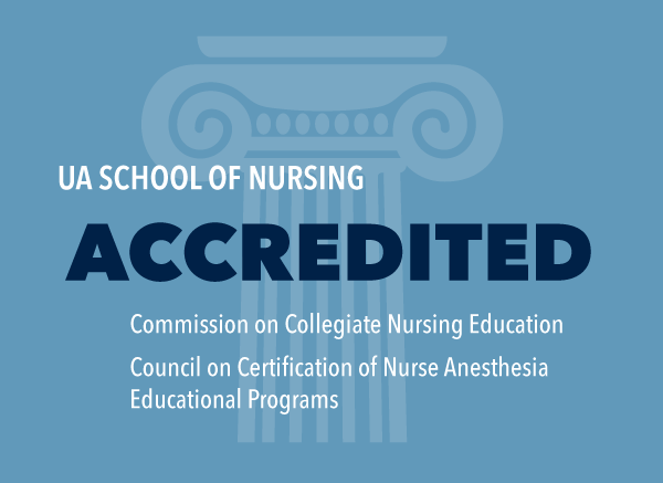 The University of Akron School of Nursing is accredited