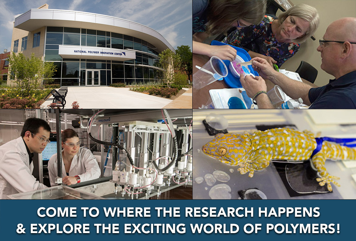 Come See Polymers in Action Research and Hands-on Fun