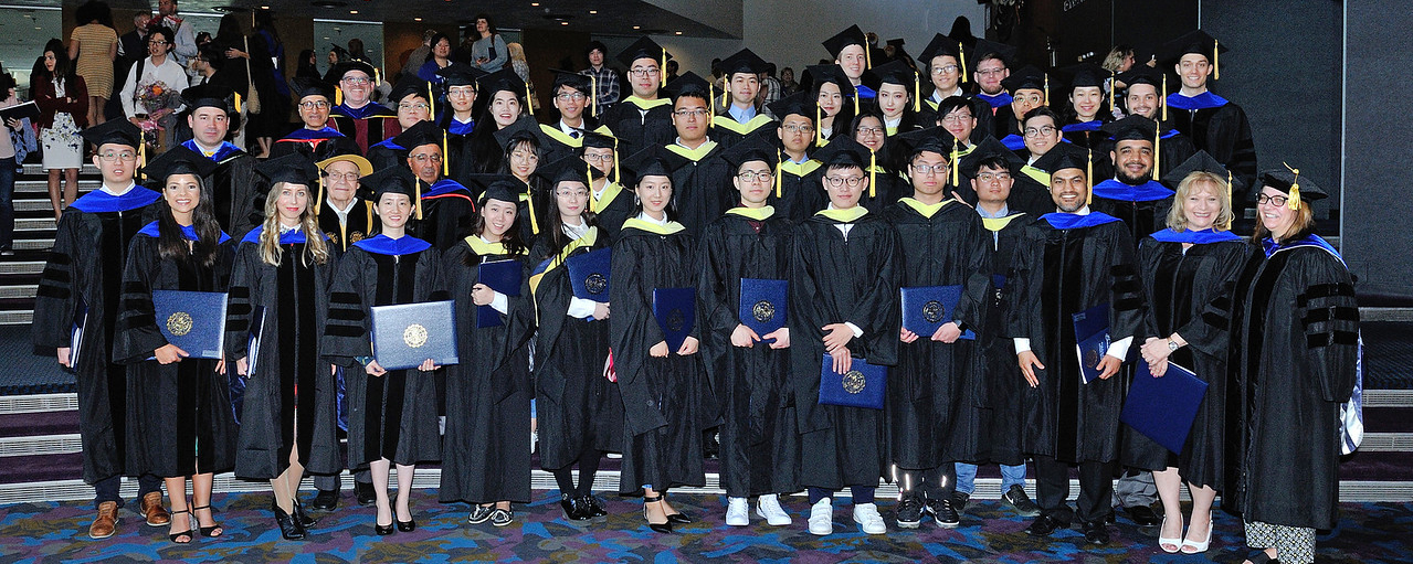 Polymer Students at Commencement