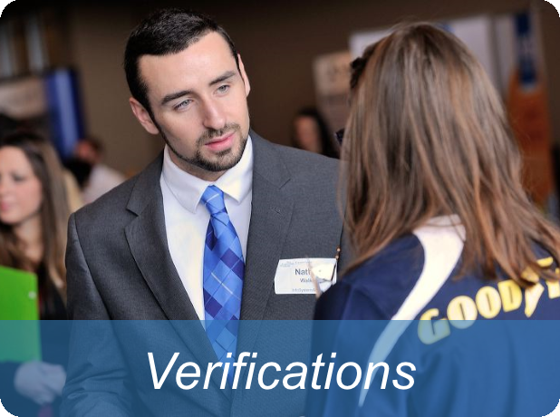 Link to verifications options page