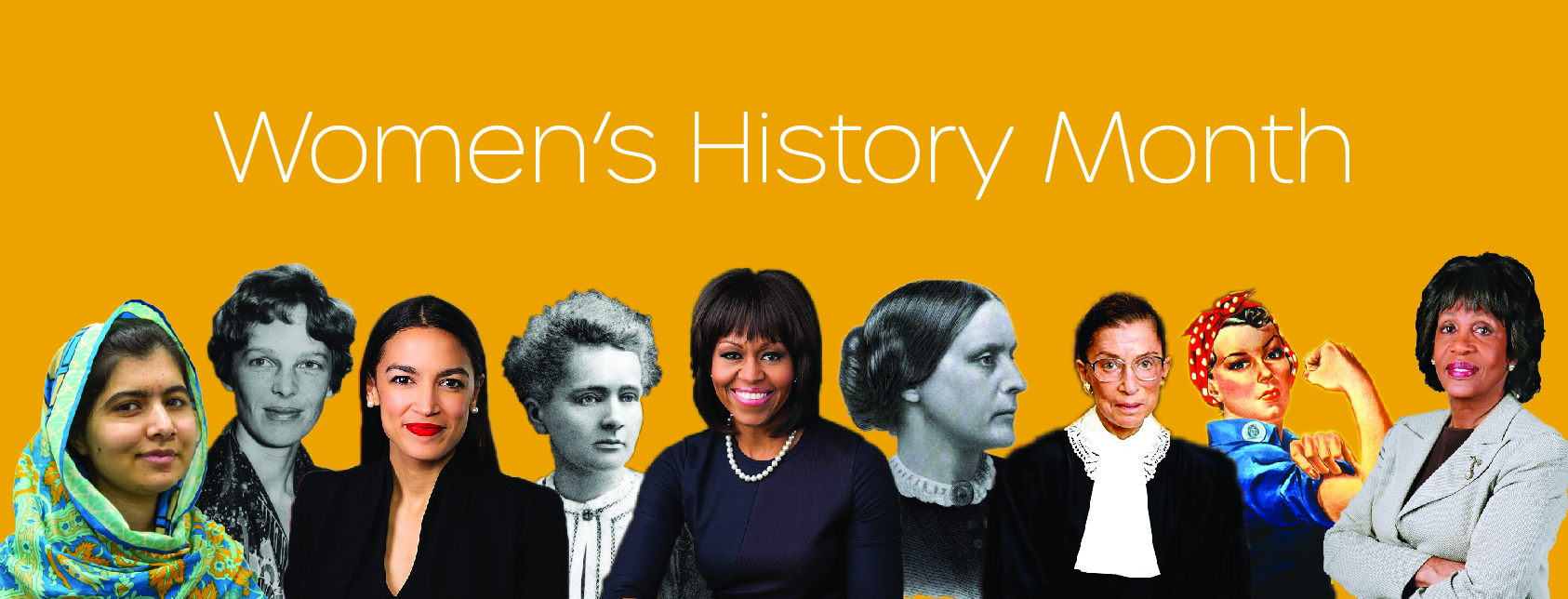 Women's History Month at The University of Akron