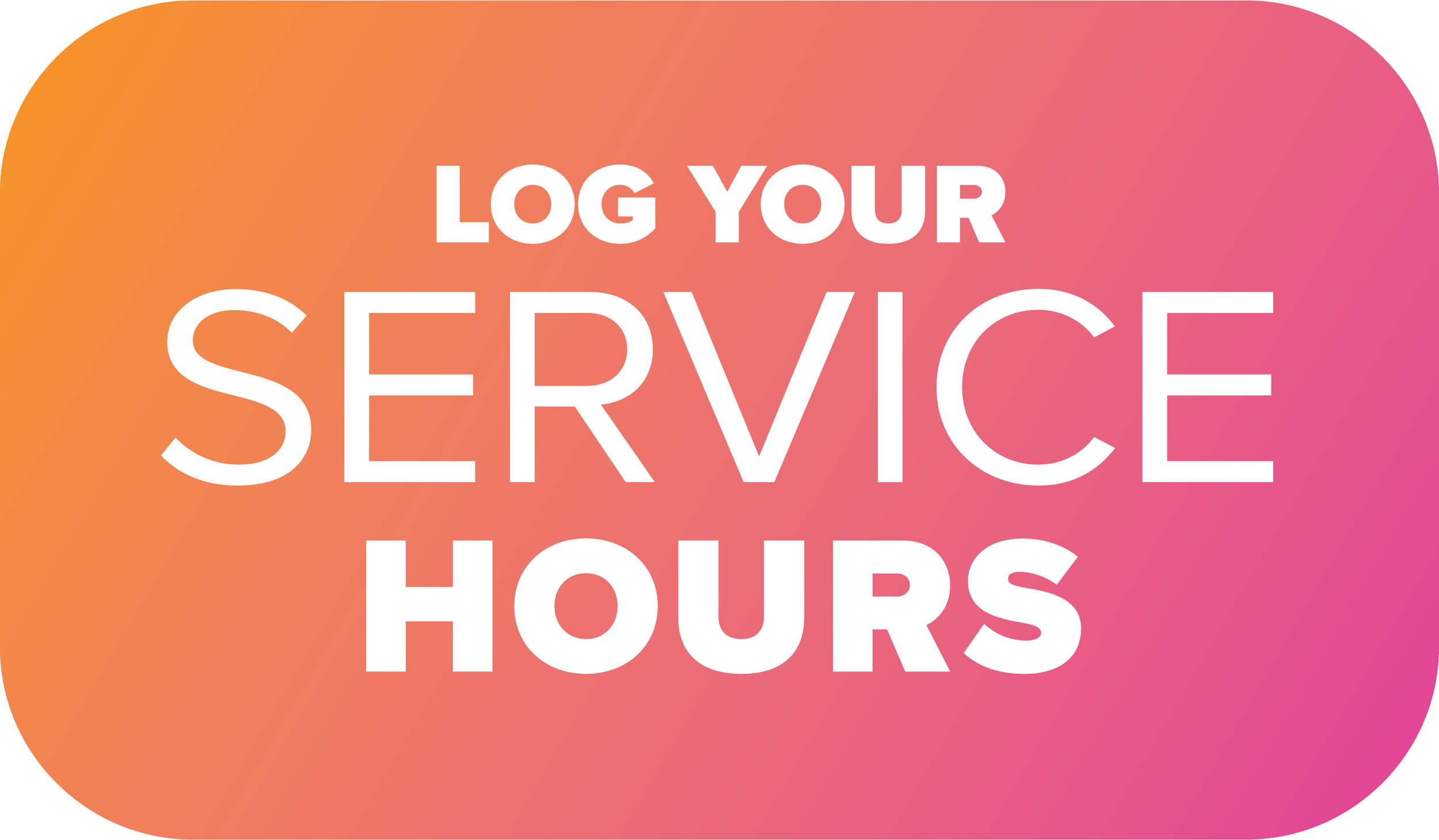 Students...Log Your Service Hours