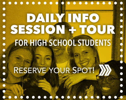 Set up a personal visit to UA and enjoy a campus tour