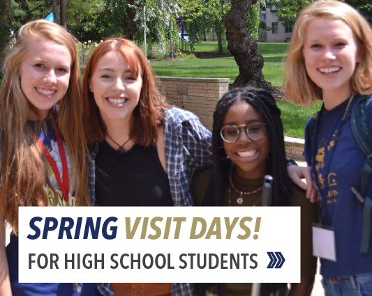 Visit days for high school students this spring