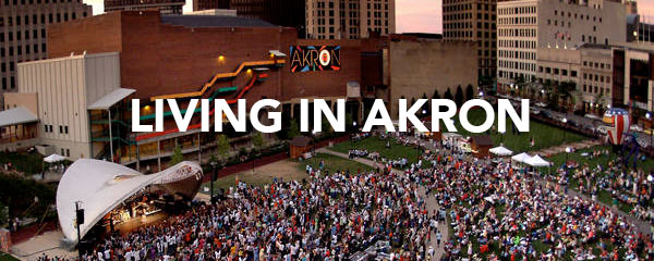 Link to page describing the benefits of living in the Akron Area