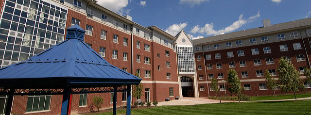 Campus life at the University of Akron includes award-winning residence and dining halls.