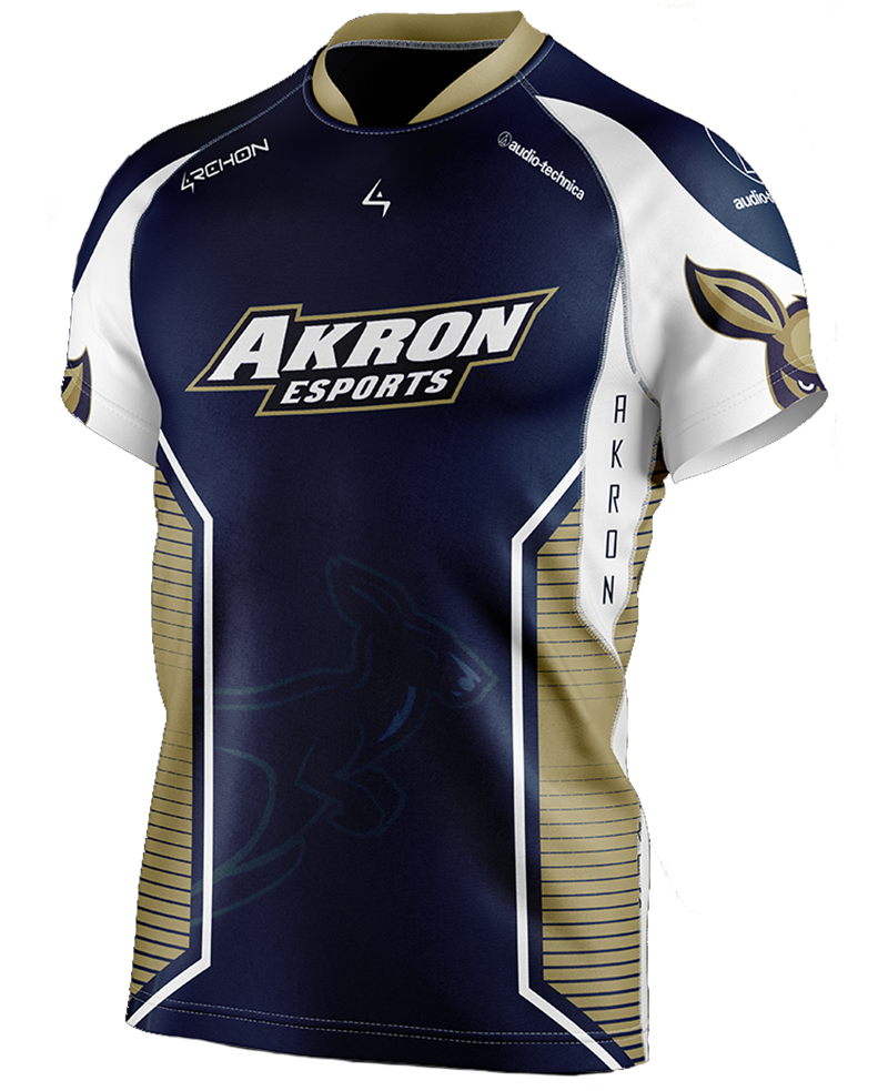 Mock jersey for UA's esports team members