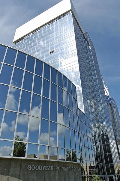 Goodyear polymer building