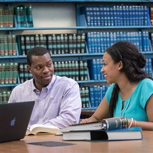 Students at The University of Akron School of Law